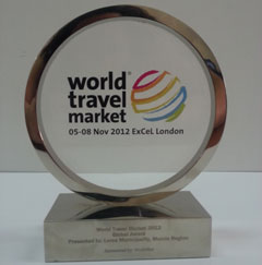Premio World Travel Market de Londres